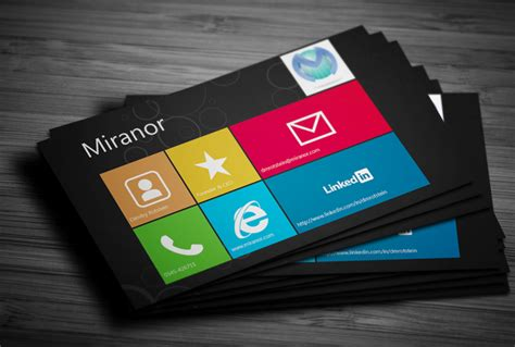 business card creator for windows 8 image collections