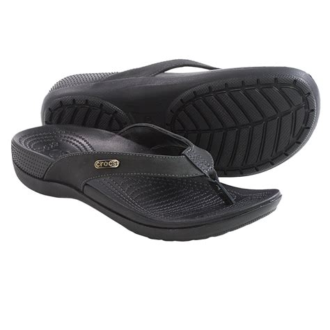 comfort flip flops crocs ella comfort path flip flops for women save 50