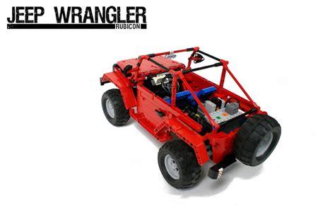 Remote Controlled Jeep Remote Lego Jeep Wrangler Rubicon Gadgetsin