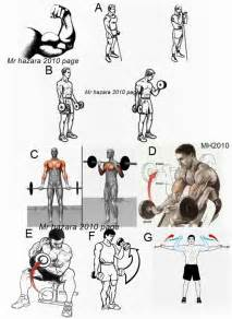 Gym workout chart for biceps new calendar template site