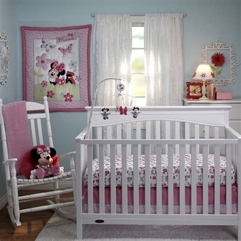 bedroom minnie mouse theme in baby room with