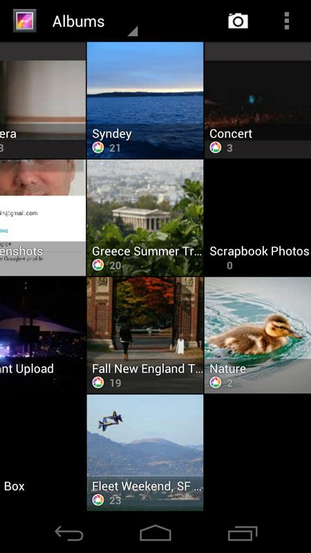 photo gallery apps for android sandwich android 4 0 screenshot gallery