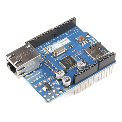 Ethernet Shield Arduino Arduino Ethernet Shield Dev 09026 Sparkfun Electronics