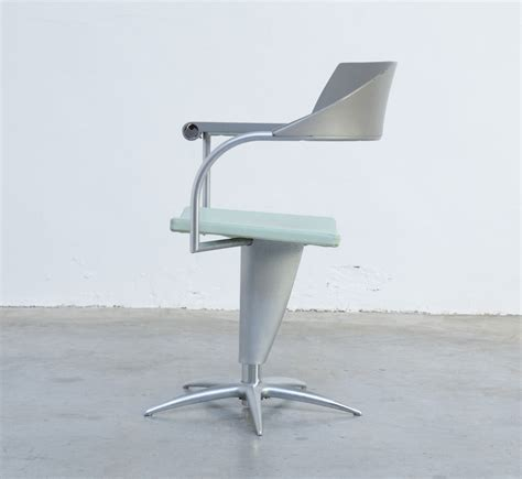 designer spotlight philippe starck claytan australia vintage techno chair by philippe starck for presence paris
