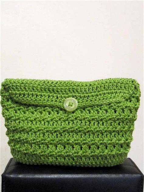 Handmade Clutch Bags Tutorial - 42 fabulous handmade crochet bag purses diy to make