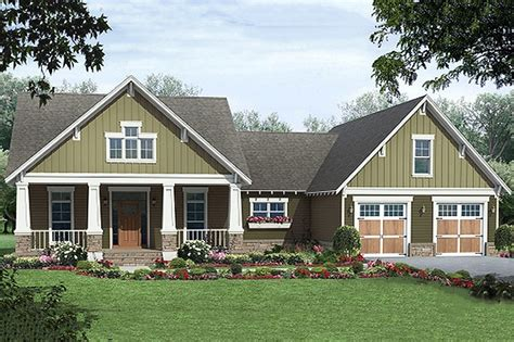 craftsman house plans the house craftsman style house plan 3 beds 2 baths 1800 sq ft