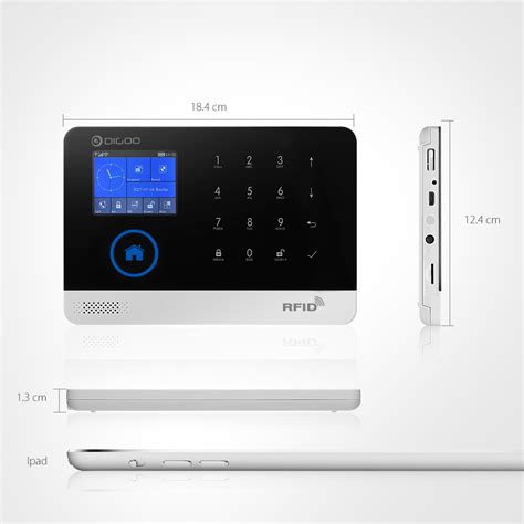 digoo dg hosa 433mhz wireless gsm wifi diy smart home