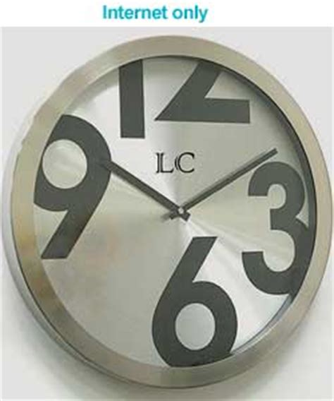 buy hanslin large number metal wall clock online at low london clock company large numbers wall clock review