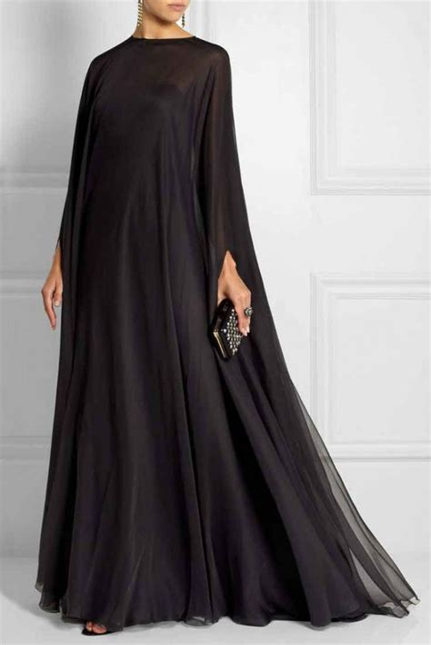 simple black abaya designs  girls  fashioneven