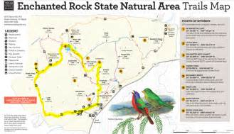 enchanted rock hiking the world