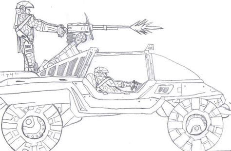 halo warthog drawing halo warthog by ark170rox on deviantart
