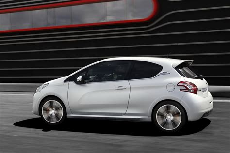 peugeot cars 2013 peugeot cars news 2013 208 gti unveiled