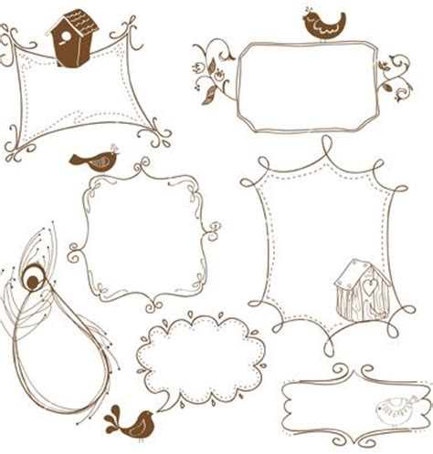 how to create doodle frames frame doodles sketching ideas