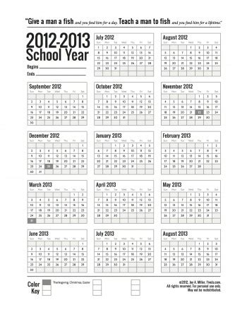 printable yearly academic calendar free printable school calendars the happy housewife