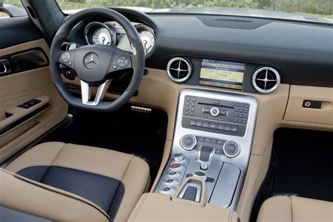 mercedes dealership inside new mercedes benz sls amg roadster pictures details