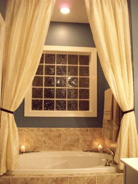 bathtub window curtain be cool window and information about on pinterest