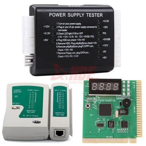 Computer Product Tester by Pc Network Test Kit Motherboard Post Analyzer Cable Computer Power Supply Tester In Other