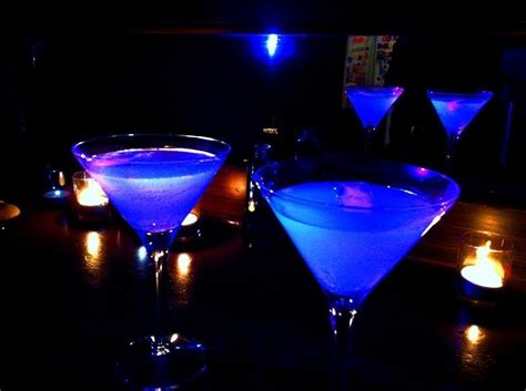 vodka tonic blacklight brighten up your with these cool glow in the