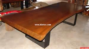 Wood Slab Dining Tables Acacia Single Slab 6 Meter Dining Table Thailand Wood Tables For Sale From Flow Bizrice