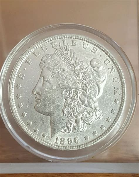 1 Dollar Silver Coin 1896 by 1896 E Pluribus Unum One Dollar Silver Coin Ebay