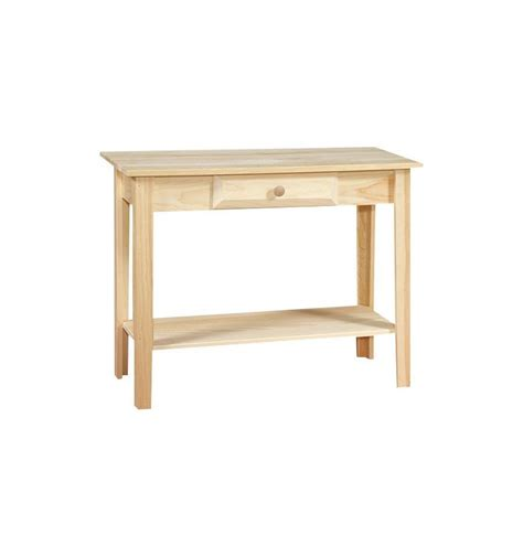 36 Inch White Horse Sofa Table Simply Woods Furniture