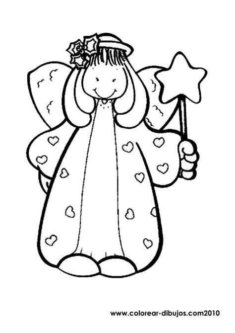 imagenes de navidad con angeles dibujos para colorear de angel de navidad angelito de