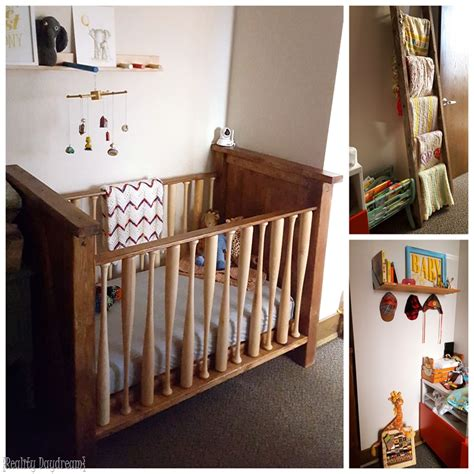 Baby Crib Diy Diy Baby Crib With A Baseball Twist Reality Daydream