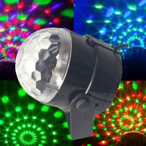 disco christmas lights 3w mini rgb led projector dj lighting light disco voice activated magic bar