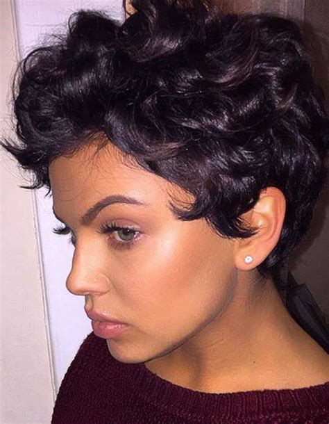 cute short hairstyles for bi racial hair 20 best cute short curly hairstyles short hairstyles