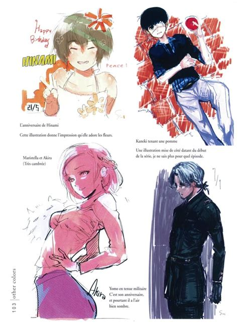 tokyo ghoul illustrations zakki serie tokyo ghoul zakki bdnet