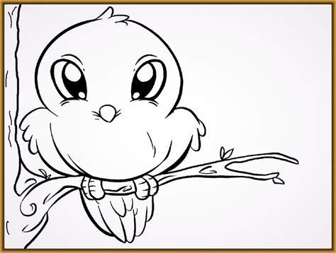 imagenes para dibujar que sean faciles dibujos infantiles de aves para colorear archivos