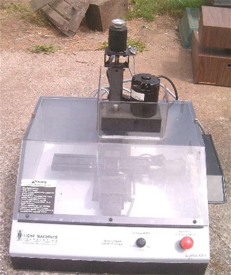 Need Help On A Light Machines Spectralight Cnc Mill