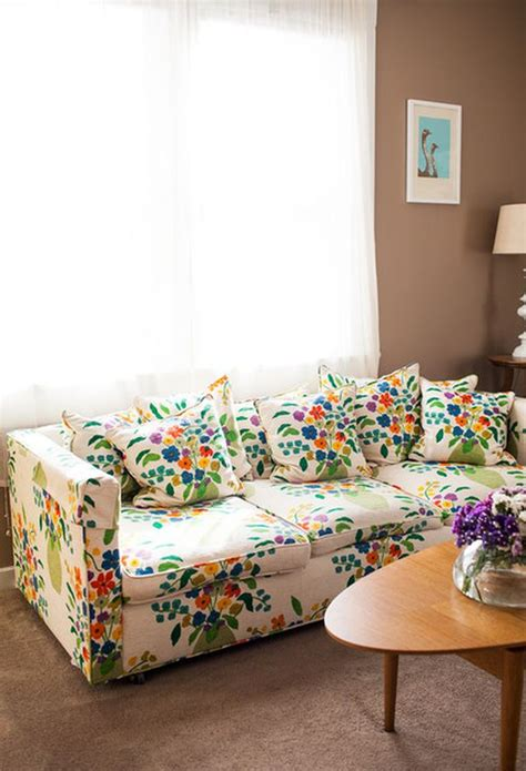 floral print couches not your grandma s floral sofa