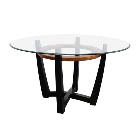 glass dining table 88 macy s macy s elation glass dining table