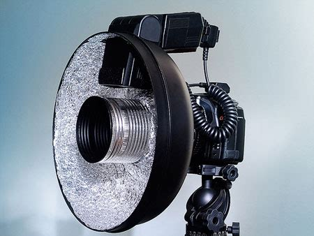 photography diy how to make a cheap ring flash
