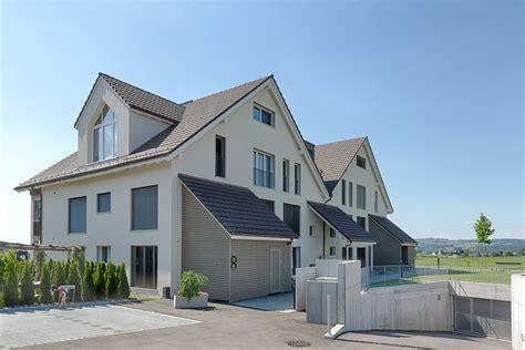 mehrfamilienhaus architektur 126 mfh schlosswiese tobel t 228 gerschen ds architektur ag