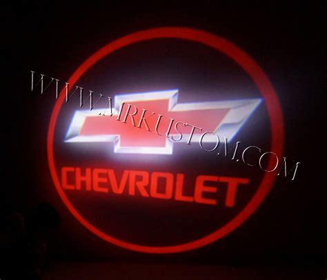 Led Fog Lights Silverado Chevy Led Door Projector Courtesy Puddle Logo Lights