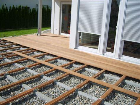 veranda unterkonstruktion terrassen unterkonstruktion anleitung das beste aus