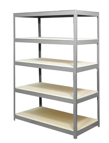 rack 5 shelf steel storage rack 72 quot h x 48 quot w x 24