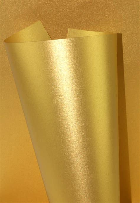 Paper Gold pearlescent card 230gsm aurum gold wl coller ltd