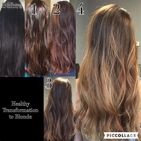 chocolate hair in hattiesburg here is the progress from 3 months of color correcting to