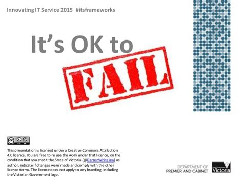 its ok to fail using agile strikeforces to deliver
