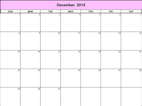 blank december calendar 2013 printable december 2013 printable blank calendar