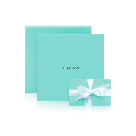 Gift Card Gift - 50 tiffany gift card tiffany co