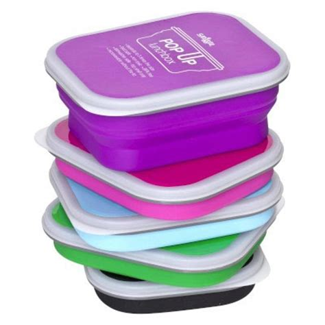 Smiggle Colour Blast Decker Lunch Box sandwich container from smiggle wrap it up theme