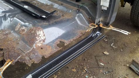 Ford Truck Bed Repair Panels Rust Repair Project Lots Of Picture My First Attempt