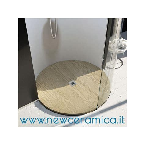 doccia circolare piatto doccia circolare texturizzato in marmo resina rocky