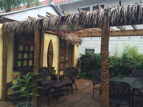 A New Orleans Backyard Tiki Paradise Wgno Gogo Papa Tiki Paradise In Your Backyard