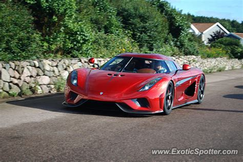 koenigsegg sweden koenigsegg regera spotted in b 229 stad sweden on 07 09 2016