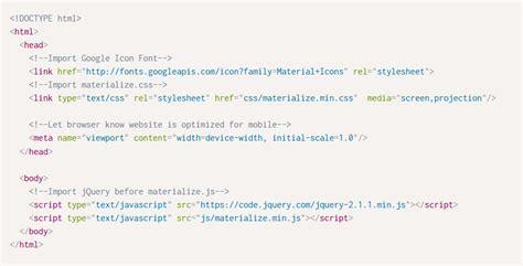 cara membuat web dengan script html cara membuat modal bottom dengan framework materialize